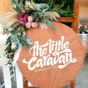 The Lost Flower Shed event flowers The Little Caravan Dispensary Co