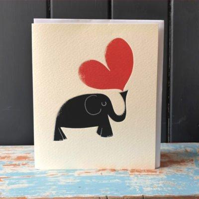 Elephant Heart Card