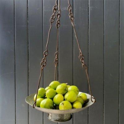 iron hanging tray