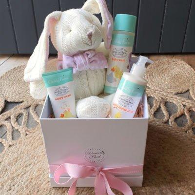 baby gift hamper bunny