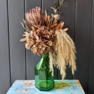 vintage dried flowers