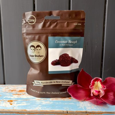 potter brothers dark chocolate coconut rough