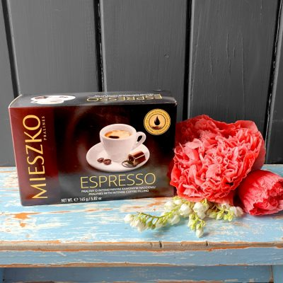 Espresso filled chocolates